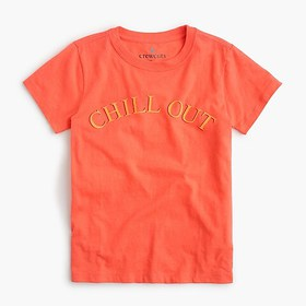 """J. Crew Kids' """"chill out"""" T-shirt"""