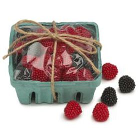 Williams Sonoma Berry Candies in Berry Basket