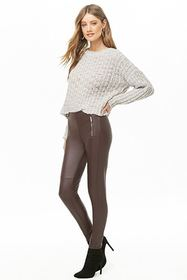 Forever21 Faux Leather Skinny Pants