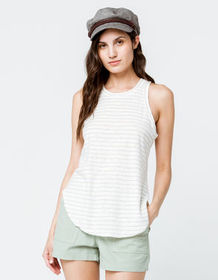 LOVESTITCH Stripe Womens Tank Top_