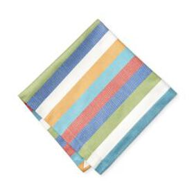 Summer Stripe Napkins, Set of 4