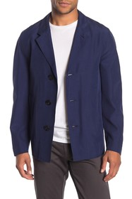 Burberry Button Front Long Sleeve Jacket