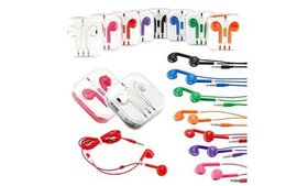3.5mm Multi-color Headphones Earphones With Mic &