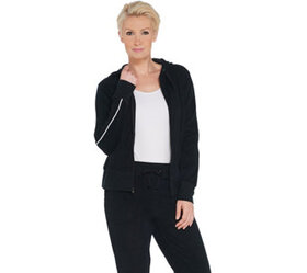 Tracy Anderson for G.I.L.I. Baby Terry Zip Front H