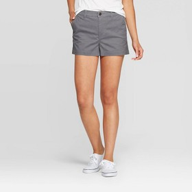 Women's High-Rise Chino Shorts - A New Day™