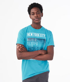 Aeropostale New York City Never Sleeps Graphic Tee