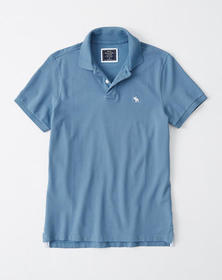 Stretch Icon Polo, BLUE