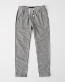 Embroidered Icon Classic Sweatpants, HEATHER GREY