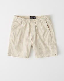 Pull-On Shorts, BLUE STRIPE