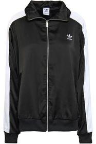 ADIDAS ORIGINALS Paneled sateen track jacket