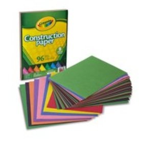 Crayola 96 Count Construction Paper Great for Craf