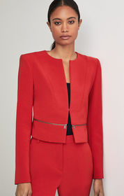 BCBG Marcus Cropped Jacket