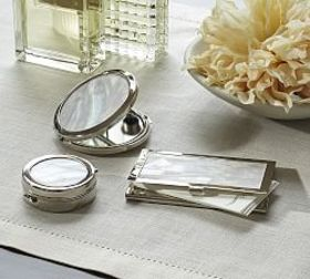 Pottery Barn Mother of Pearl Vanity Set