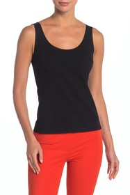 Theory Scoop Neck Shell Top