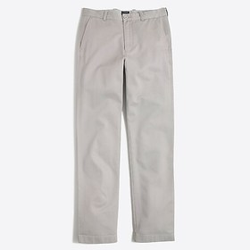 J. Crew Factory Bleecker athletic-fit broken-in ch