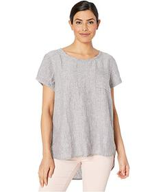 Jones New York Boxy Pocket Tee