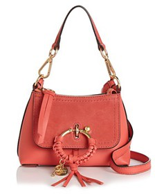 See by Chloé - Joan Mini Leather & Suede Hobo