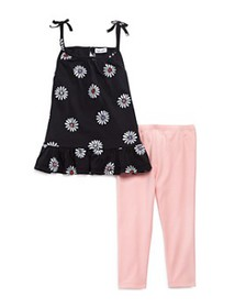 Splendid - Girls' Daisy Tank & Leggings Set - Litt