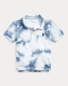 Ralph Lauren Tie-Dye Cotton Mesh Polo