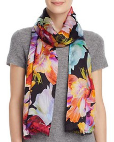 Echo - Digital Floral Scarf