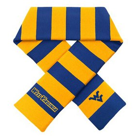 West Virginia Mountaineers Rugby Scarf