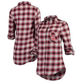 Ole Miss Rebels Concepts Sport Women's Forge Flann