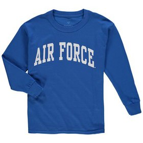 Air Force Falcons Youth Secondary Logo Basic Arch