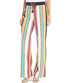 Juicy Couture Maroc Stripe Microterry Track Slit P