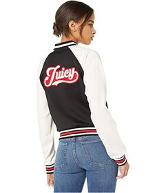 Juicy Couture Juicy Letterman Tricot Track Jacket