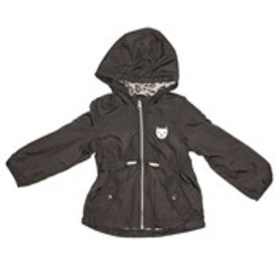 CARTERS Girls Hooded Anorak Jacket with Fleece Lin