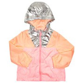OSHKOSH Toddler Girls Metallic Color Block Rain Ja