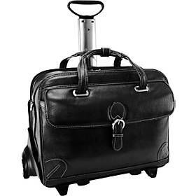 "Siamod Vernazza Collection 15"" Wheeled Laptop Case"
