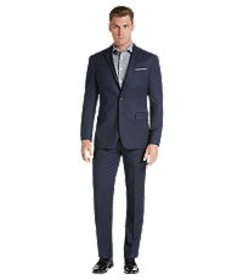 Jos Bank Travel Tech Collection Slim Fit Micro Str