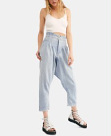 Free People Mover And Shaker Cotton Pleated Paper