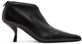 The Row Black Bourgeoise Ankle Boots