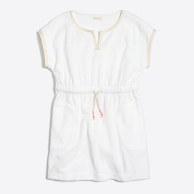 J. Crew Factory Girls' terry beach dress