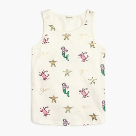 J. Crew Factory Girls' printed tank
