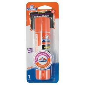 Elmer's® Washable Glue Stick Disappearing Pur
