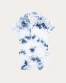 Ralph Lauren Tie-Dye Cotton Polo Shortall