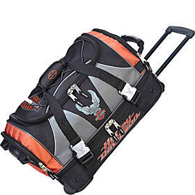 """Harley Davidson by Athalon 21"""" Carry-On with Organ"""
