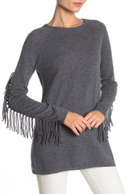 THE CASHMERE PROJECT Fringe Cashmere Sweater