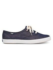 Keds Champion Lurex Canvas Sneakers NAVY