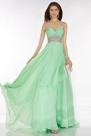 Alyce Paris - 6607 Prom Dress in Seabreeze