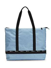 LeSportsac Colette Expandable Top-Zip Tote CHAMBRA
