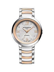 Baume & Mercier Promesse Two-Tone Stainless Steel