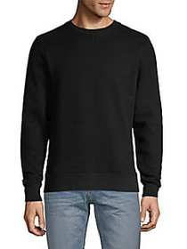 Ovadia & Sons Distressed Cotton Blend Sweatshirt B