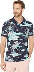 Lacoste Short Sleeve All Over Printed Mini Pique P