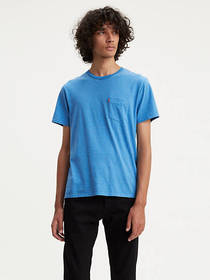 Levi's Classic Striped Pocket Tee Shirt