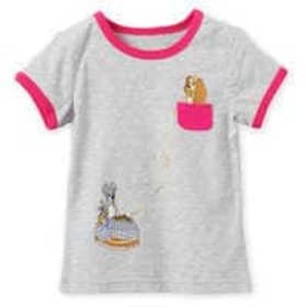 Disney Lady and the Tramp Ringer Tee for Girls