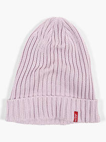 Levi's Cotton Ribbed Beanie